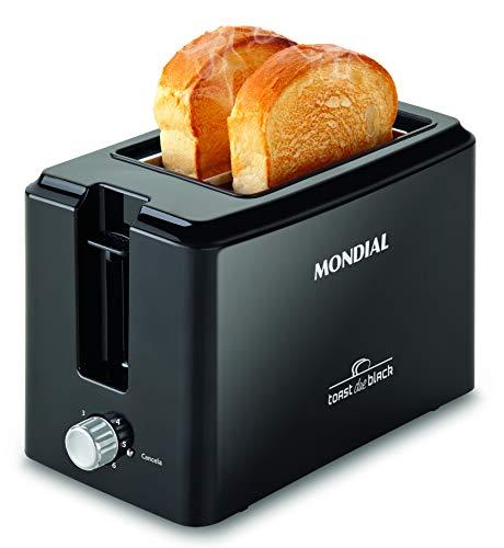 Tostador de pães Toast Due Black
