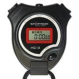 Schütt Stoppuhr Stoptec HC-3 / Digitale Stoppuhr mit Uhrmodus, Datum, Alarm, Stundensignal/für den Hobbyeinsatz im Bereich von Sport und Freizeit (ohne Trillerpfeife)