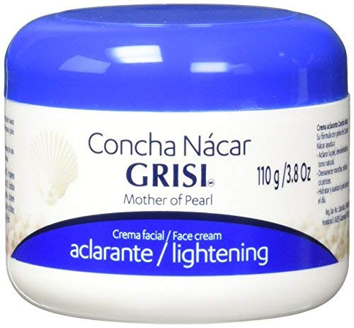 Grisi Crema Concha Nacar Mother Of Pearl Cream Face and Body Lotion 3.8oz by N/A