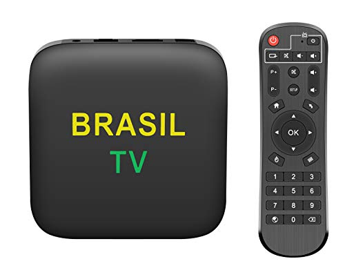 BETTER TV,BETTER LIFE!2021 IPTV Brazil Brasil TV New Version TV Box OS Android 8 System Multi Languages Supported HDMI 2.0 LAN Multi-Media Sharing Play 4K