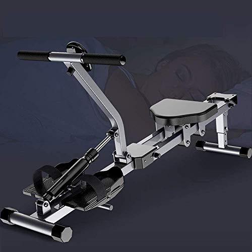 Feeyond Rudergerät Einstellbare Geschwindigkeit Vollbewegungs-Rudergerät Rudergerät 150 Kg Gewicht Und Monitor