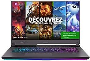 """ASUS ROG G713QM-HX038T PC Portable Gaming 17"""" FHD (AMD Ryzen R7-5800H, RAM 16G DDR4, 512GB SSD, RTX 3060 - 6GB GDDR6,..."""