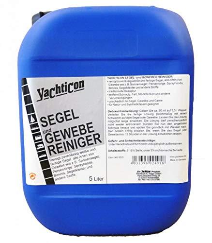 YACHTICON Segel und Gewebe Reiniger 5 Liter