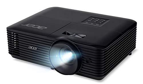 Acer H5385BDi DLP Beamer (HD Ready (1.280 x 720 Pixel) 4.000 ANSI Lumen, 20.000:1 Kontrast, 3D, Keystone, 3 Watt Lautsprecher, HDMI (HDCP), Audio Anschluss) Home Cinema