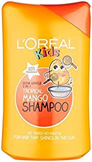 子供トロピカルマンゴーシャンプー250Ml (L'Oreal) (x 2) - L'Oreal Kids Tropical Mango Shampoo 250ml (Pack of 2) [並行輸入品]
