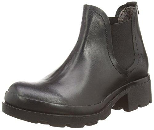 Fly London Damen Mena Chelsea Boots, Schwarz (Black 000), 42