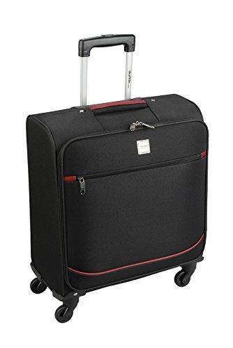 Skyflite cabina a quattro ruote Spinner valigia British Airways conforme a mano Luggage- 56x 45x 25cm nero Black Small - 56 x 45 x 25 cm - 2.9 kg