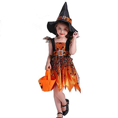 QSEFT Costume Da Carnevale Di Halloween Per Bambini E Ragazze,100Cm