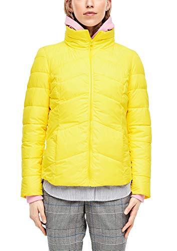 s.Oliver RED Label Damen Steppjacke mit Stehkragen Yellow 36