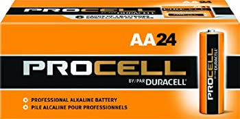Duracell Procell PC1500 Alkaline-Manganese Dioxide Battery AA Size 1.5V 24 Count