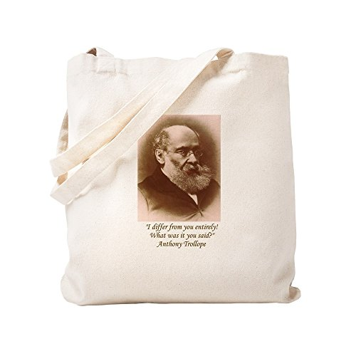 CafePress Anthony Trollope Tragetasche, canvas, khaki, S