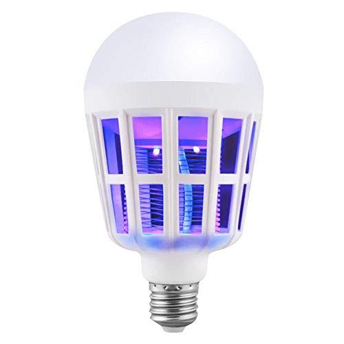 AOARR Moskito Lampe Insektenlampe 9W 15W Led Moskito Violett Led Glühlampe Lampe E27 220V / 110V Moskito Killer Lampen Lampe Ersatzlampe Für Home-9W_Eu_Plug