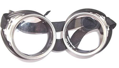 Schraubringbrille mit klaren Sicherheitsgläsern