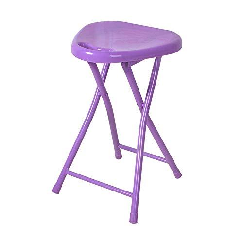 DJY-JY Silla plegable portátil al aire libre Pesca Recreación Baño Pequeña silla plegable de plástico grueso