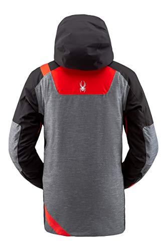 Spyder TORDRILLO heren Gore-Tex Ski Primaloft jas - grijs