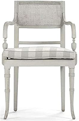 Amazon.com: Francés Heritage Regence Caned laterales silla ...