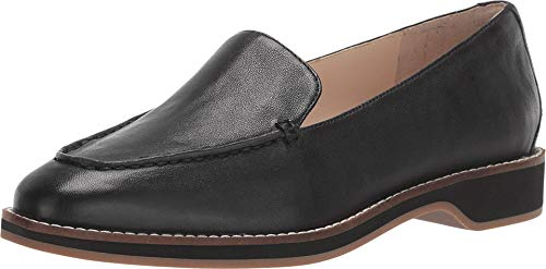 Cole Haan Women's The GO-to Loafer, Black grainy leather, 6.5