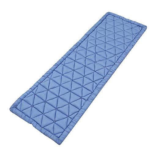 Huachaoxiang Colchón de Stock Plegable para Dormir, colchón Rest Suelo Fondo Espesado Futón Pista para Dormir Plegable Plegable Plegable Portátil Super,Azul