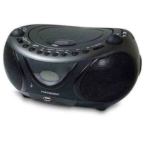 Metronic 477135 Radio CD MP3 Bluetooth schwarz