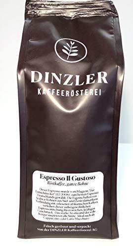 Dinzler Kaffeerösterei Espresso IL GUSTOSO 250g gemahlen für Siebträger