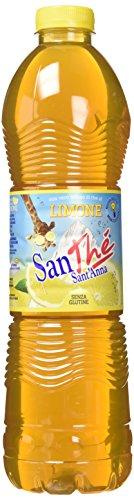 Sant'Anna - Santhè - The Freddo al Limone - Con Vero Infuso di The in Acqua Sant'Anna - Confezione da 6 Bottiglie da 1.5 Litri