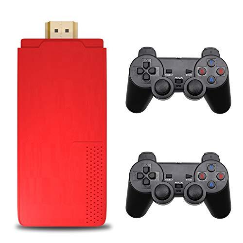GoolRC Consola de Videojuegos Portátil Inalámbrica USB Salida HD TV Video 3000 Juegos Dual 2.4G Joysticks Inalámbricos Soporte de Tarjeta 32G 4K TV Reproductores Duales Regalo