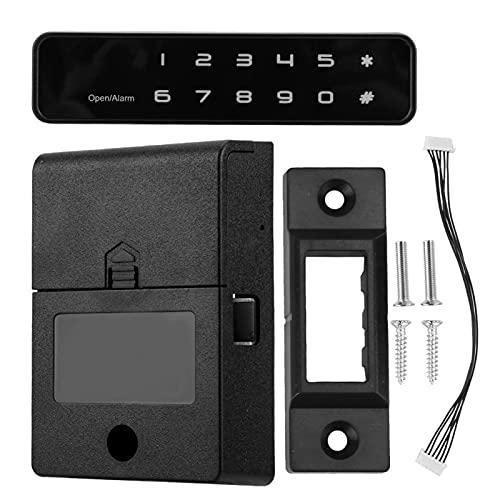 Smart Lock, Cerradura electrónica Digital de 12 Botones, para gabinetes de Madera, Cajas de Herramientas