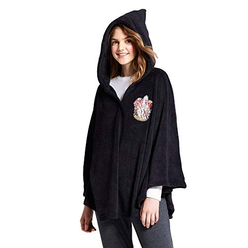 Adult or Child Poncho Costume in Harry Potter, Elf or Minnie Mouse (Harry Potter) Black