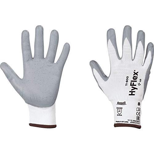 Arbeitsschutz-Handschuhe HyFlex 11-800 Größe 8 Schutzhandschuhe Arbeitshandschuhe Komfort 6 Paare