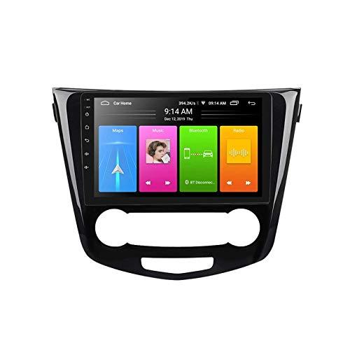 Android 10.0 Car Stereo Sat Nav Radio para Nissan X-Trail 3 / Qashqai 2 2014-2017 Navegación GPS Unidad Principal Pantalla táctil Reproductor Multimedia MP5 Receptor de Video con 4G WiFi SWC