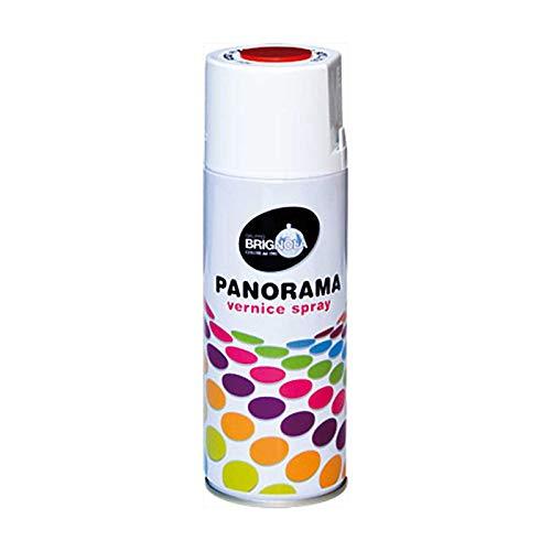 Brignola Panorama nagellak synthetisch en acryl-spray, kleur zilver