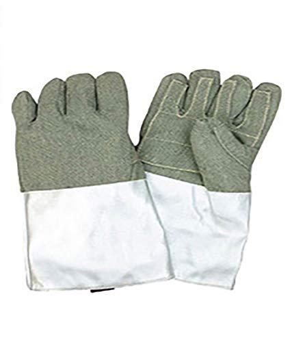 MXBAOHENG 1000℃Hitzebeständige Handschuhe Aramid Faserhandschuhe Hochtemperaturbeständige Handschuhe