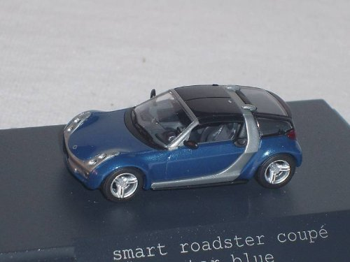 Auch gut in der Leistung Bush Smart Roadster Coupé BlauHo H01 / 87 Automodell Automodell