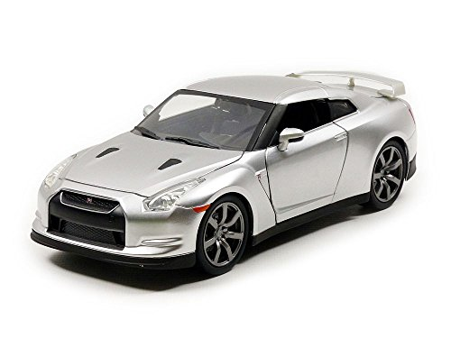Jada Toys 97212s Nissan GT-R (R35)–Fast and Furious–Maßstab 1/24, Silber