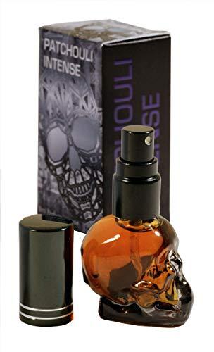 Unser stärkstes Patchouli! Teufelsküche Patchouli Parfum Intense im süßen Skull - Mini-Flakon. Extrem stark, lang anhaltend, 8ml