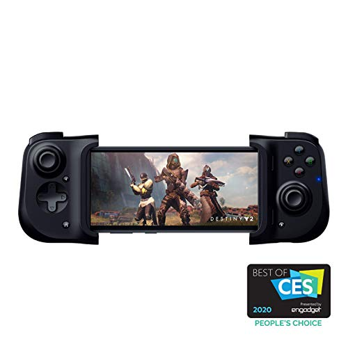 Razer Kishi Mobile Game Controller / Gamepad for Android USB-C: Xbox Game Pass Ultimate, xCloud, Stadia, GeForce NOW, PS Remote Play - Passthrough Charging - Mobile Controller Grip Samsung and more
