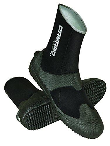 Camaro Tauchfüsslinge Titanium Pro Boot - Escarpines de Buceo, Color Negro, Talla 44