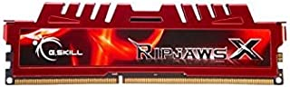 G.SKILL Ripjaws X Series 8GB 240-Pin DDR3 SDRAM 1600 (PC3L 12800) Desktop Memory F3-1600C9S-8GXLL by G.Skill