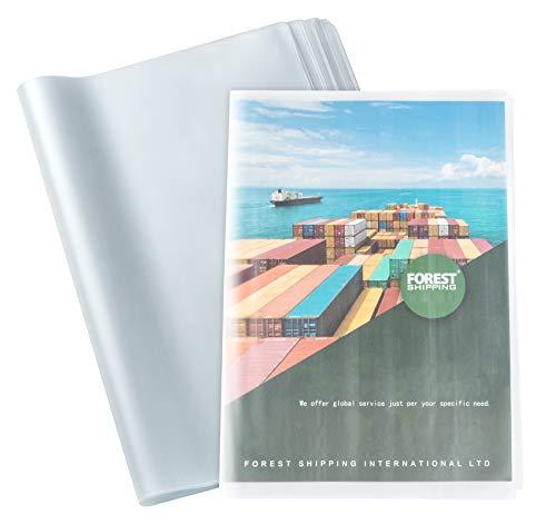 30pcs Copertine per Quaderno Trasparenti Formati A4, Copriquaderni in Plastica Impermeabile Riutilizzabile, per Scuola Ufficio