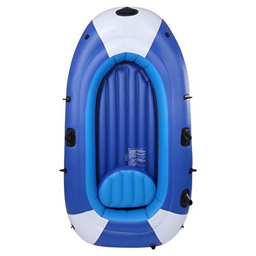 TLM Toys - Kayak hinchable, barco hinchable, para 3 personas con remo