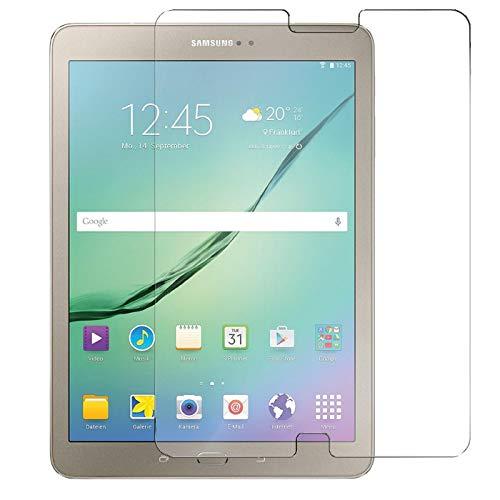 Conie 9H3688 9H Panzerfolie Kompatibel mit Samsung Galaxy Tab S2 9.7 T810, Panzerglas Glasfolie 9H Anti Öl Anti Fingerprint Schutzfolie für Galaxy Tab S2 9.7 T810 Folie HD Clear