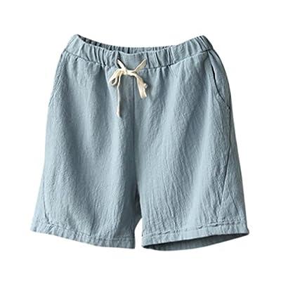 Clearance ! Litetao - Women pants ! Hot Sale ! New ! Women Shorts, Cotton Linen Casual Hot Shorts Summer Drawstring Short Pants