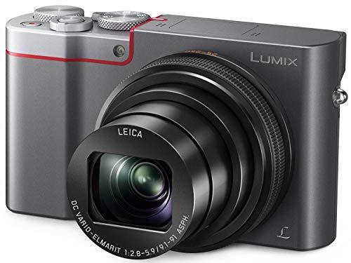 Panasonic LUMIX ZS100 4K Point and Shoot Camera, 10X LEICA DC VARIO-ELMARIT F2.8-5.9 Lens with Hybrid O.I.S., 20.1 Megapixels, 1 Inch High Sensitivity Sensor, 3 Inch LCD, DMC-ZS100S (USA SILVER)