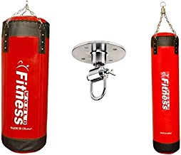 The Worlds Boxing Training Kit Size 100 cm With Boxing training bag size 120 cm And Boxing bag holder World Fitness