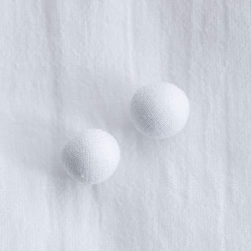 くるみボタン(トップくるみボタン) #BT185 1穴 10mm C/#WHITE ホワイト 10個セット