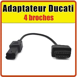 4 Pines Adaptador de Cable de diagn/óstico OBD2 para Motocicleta Proscan Automotive