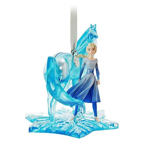 Disney Elsa and Nokk Fairytale Moments Sketchbook Ornament – Frozen 2