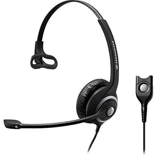 Sennheiser SC 232 Monaural Headset mit ED und Noise Canceling-Mikrofon schwarz