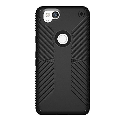 Speck Products Presidio Grip Cell Phone Case for Google Pixel 2 - Black/Black