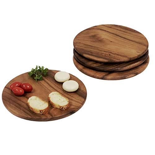 acacia wood plates - 4